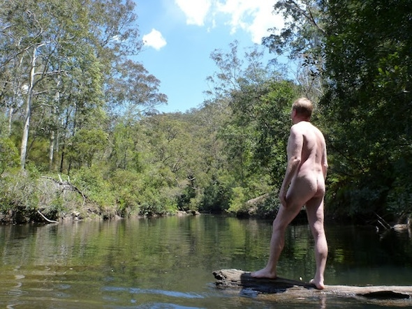Murphys Glen to Bedford Creek nude walk