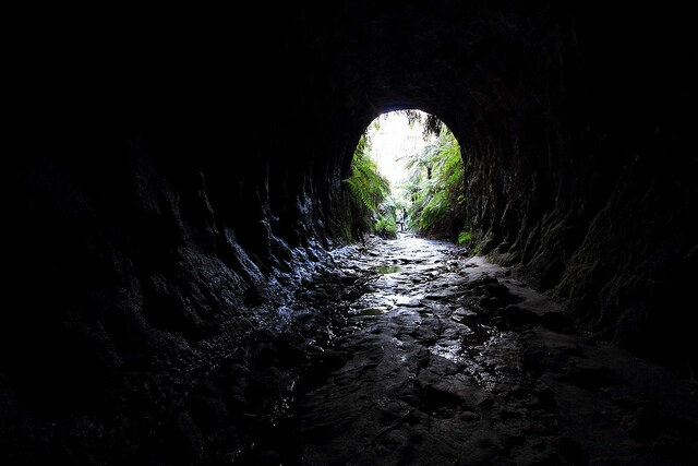 The Dry Canyon and Glowworm Tunnel