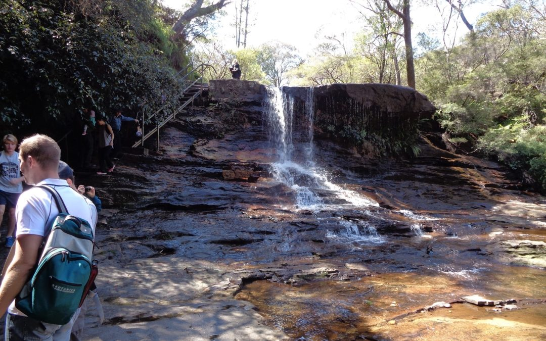 Wentworth Falls to Vera Falls via Darwin's walk, Wentworth Pass