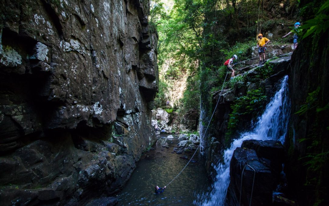 Beginners Canyoning: Macquarie Rivulet