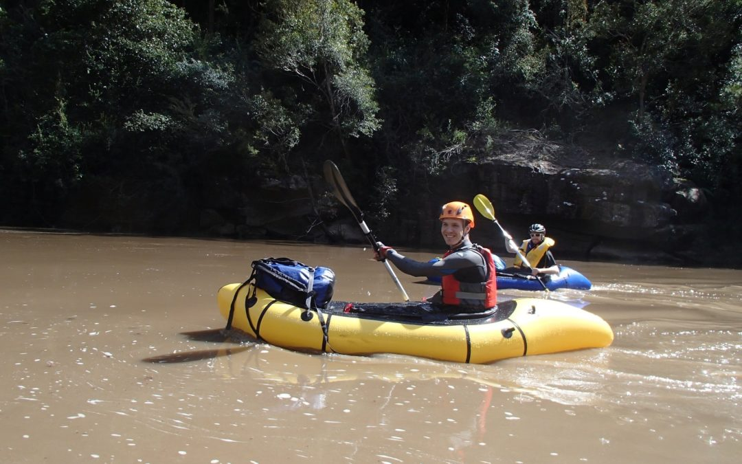 Colo River Packraft trip (Bob Turners Track to Upper Colo Bridge)