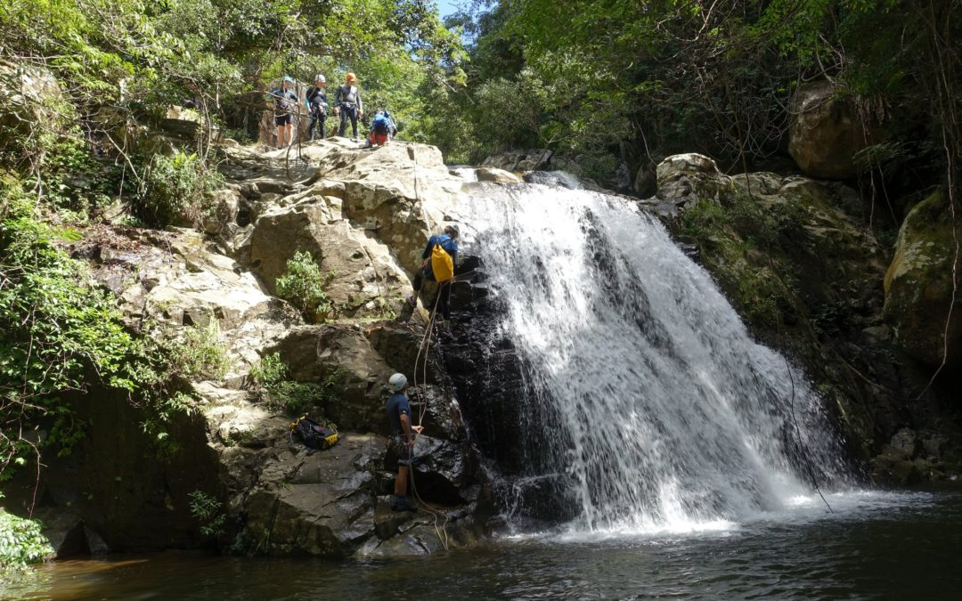 Beginners Canyoning: Macquarie Rivulet Lower (Tourist) Section