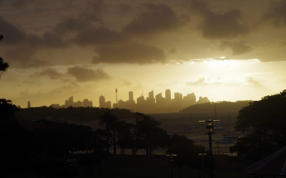 Halloween walk, Bondi – South Head