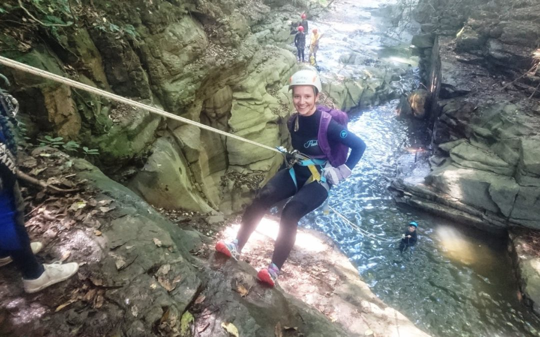 Beginner Canyoning Macquarie Rivulet