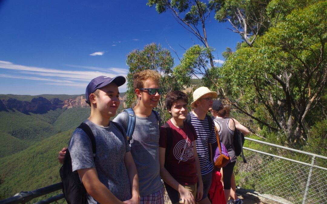 Pulpit Rock. New members meet deadly Tiger Snake.