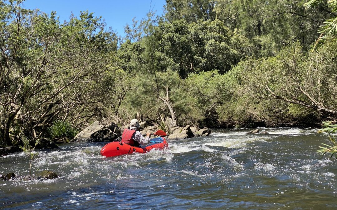 Barrington River Packrafting 16-17 January 2021