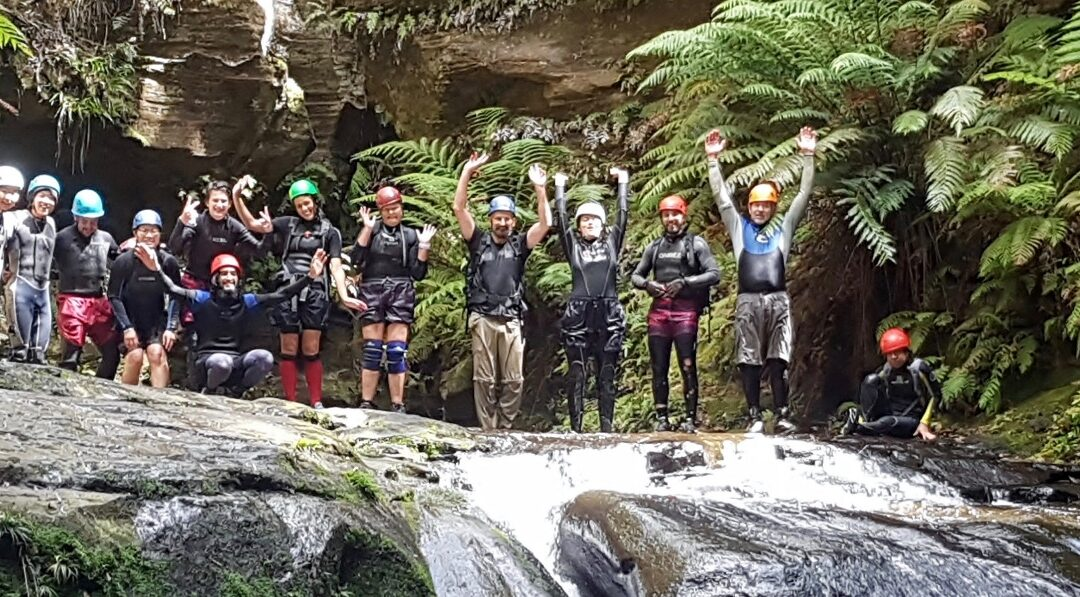 Beginners canyoning weekend